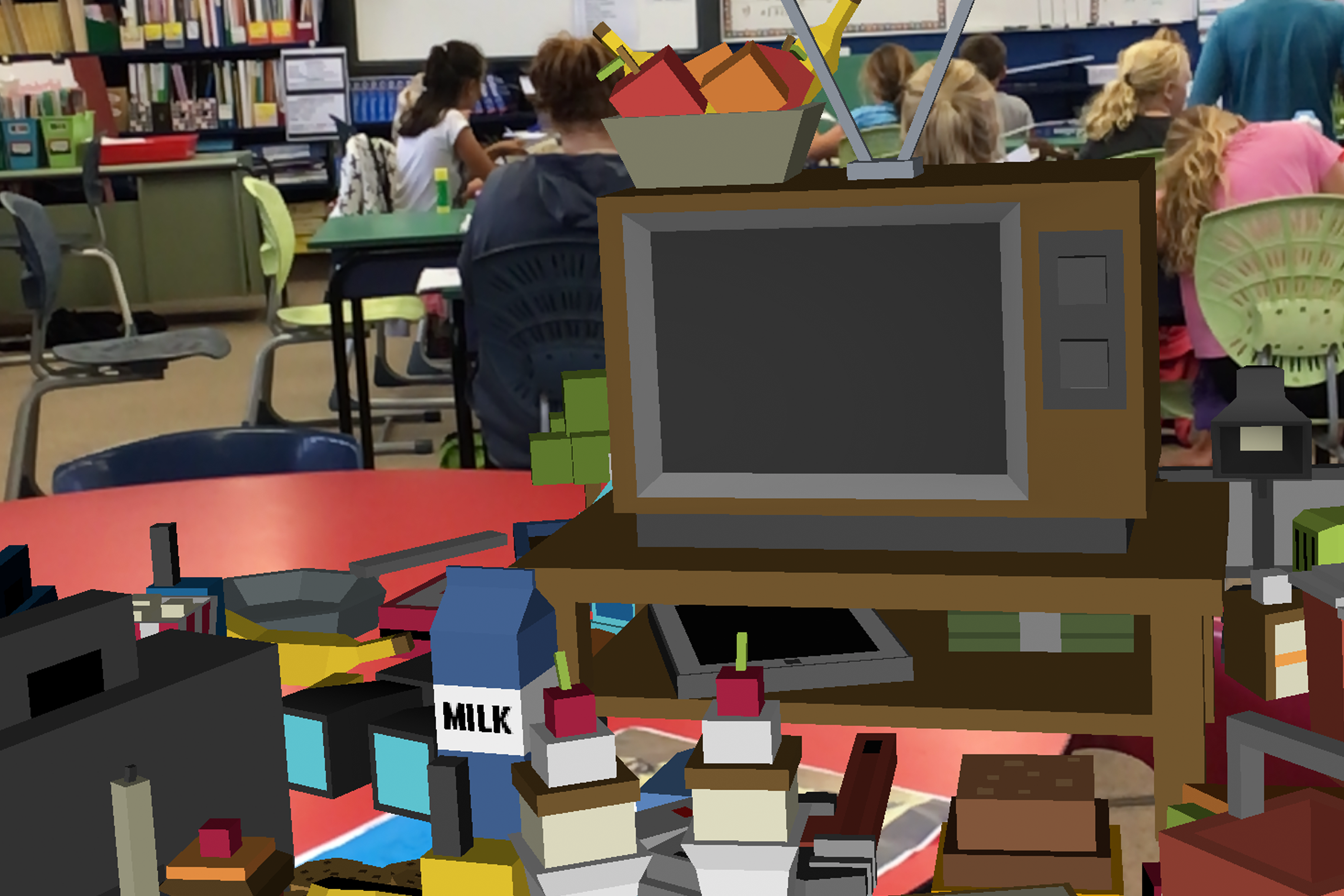 Augmented Reality in classrooms